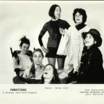 Firesticks, A Journey Into Self Respect, was conceived and directed by Linda Karima Putnam. The ensemble from left to right include Linda Karima Putnam, Telema Martha Corscaden, Susanne Baxtresser, Vivian Troen, Susan Eisenberg and Ellie Speilberg. Not pictured are Laura Foner and Lou Andrews.
