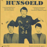 Hunsoeld A storytelling participational theater piece - stories from around the world: created and performed by Hassan Gebel, directed by Saphira Linden, musical magic by Tom Williams.