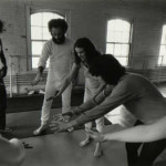 John Cohn and others in a class in the Reality Theater Acting Growth Program, taught by Linda Karima Putnam.